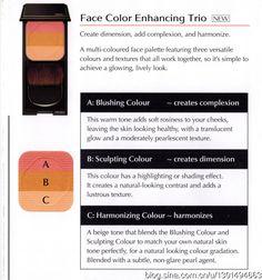 Shiseido Face Color Enhancing Trio or 01 Peach