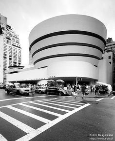 #NYCArchitecture #Guggenheim #FrankLlyodWright #Art #NYCLove