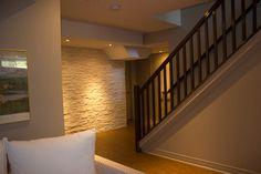 Tedder Basement Renovation contemporary-basement