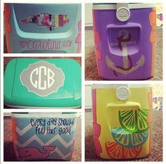@Meagan Finnegan Finnegan Finnegan peters, we should paint a cooler for our texas/beach trip! :)