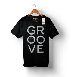 Camiseta - GROOVE  http://www.toquemaisbaixostore.com.br/camiseta-groove-preta