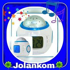 Lampka z projektorem gwiazd + 10 melodii + zegar z budzikiem+ kalendarz ⭐⭐⭐⭐⭐ #zegar #lampka #projektorgwiazd #projektor #budz #budzik #kalendarz #melodic #melody #dzwieki #design #skleponline #shoponline #shop #prodekol (w: Sklep online ProdEkol dla domu i ogrodu oraz 1001 drobiazgów)
