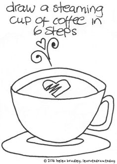 Learn to Draw a Cup of Coffee in 6 Steps