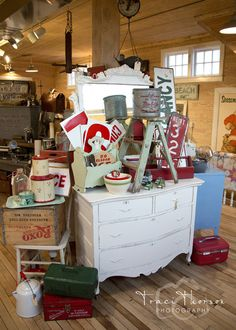 urban farmgirl: pics from around the shop...I need to layer!