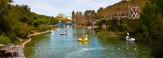Gilroy Gardens- California family amusement park geared towards younger children with gentle rides and stroller friendly (between San Jose and Monterey)