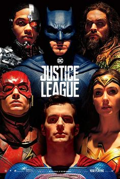 Ben Affleck, Jason Momoa, Gal Gadot, Ezra Miller, and Ray Fisher in Justice League Lego Justice League, Young Justice League, Justice League Unlimited, Justice League Poster 2017, Justice League Dark Movie, Zack Snyder Justice League, Justice League Characters, Dc Comics, Aquaman