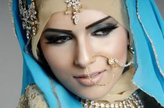 various colors of hijab for wedding (2)