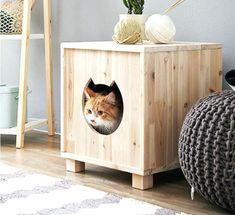 Casinha para Gatos: Como Fazer Passo a Passo - Artesanato Passo a Passo!