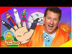 Halloween Finger Family | Fun Halloween Songs and Nursery Rhymes for Kids | The Mik Maks - YouTube Finger Family Song, Family Songs, Kids Songs, Halloween Songs, Family Halloween, Happy Halloween, Kids Nursery Rhymes, Rhymes For Kids, Superhero Birthday Party