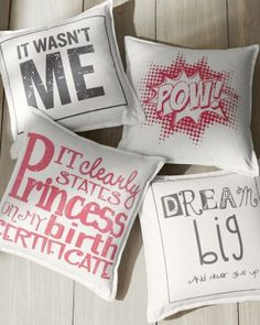 It clearly states Princess on my birth certificate. Drewm Big and never give up! Kids' Words Pillow