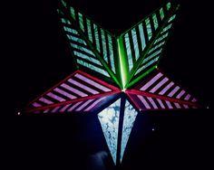 Items similar to Paper Star Lantern Tree Star; Unique on Etsy Boho Lighting, Event Lighting, Hipster Dorm, Hippie Boho, Bohemian, Paper Star Lanterns, Wedding Lanterns, Boho Bedroom Decor, Boho Bedding