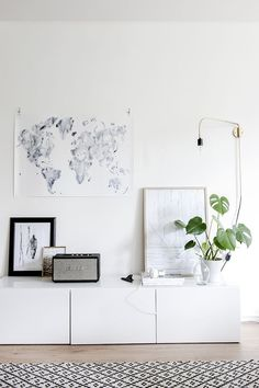 Fresh Scandi Style with a Touch of Blue