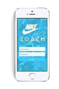 Nike Coach iPhone App by plasmosis plasmosis, via Behance