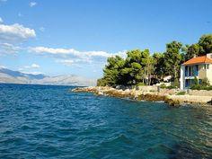 Supetar - Villas to rent in Croatia Croatia Tours, Dubrovnik Croatia, Beach Villa, Beach House, Croatian Coast, Seaside Towns, Medieval Town, Travel Europe, Staycation