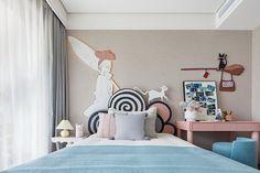 Residential Interior Design, Office Interior Design, Interior Design Inspiration, Girl Room, Girls Bedroom, Sofa Furniture, Furniture Design, E Room, Bedroom Closet Design