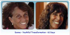 Beautiful skin transformation in 61 days with the Luminesce skin care line from Jeunesse Global. I love this anti aging skin care line so much!