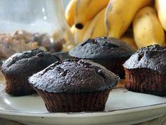 Recreio Saudável: CupCake de chocolate, banana e mel - Quero ser Sarada