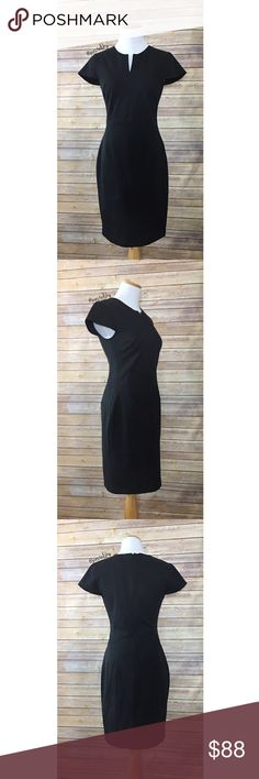 "🆕 BANANA REPUBLIC little black dress LBD NEW with tags and in perfect condition. perfect as a career staple or dress it up for a night on the town!  details ・4P ・34.5"" length ・16"" bust ・13.5"" waist (will stretch)  materials ・65% cotton ・35% rayon/viscose ・5% spandex/elastane  due to lighting- color of actual item may vary slightly from photos. please don't hesitate to ask questions. happy POSHing 😊  💰 use offer feature to negotiate price 🚫 i do not trade or take any transactions off…"