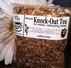 Organic Herbal Teas Knock Out Tea for Restful Sleep by LeesTeas, $5.00