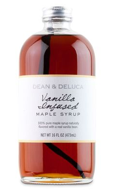 vanilla infused maple syrup - bring it on!  (great packaging too)