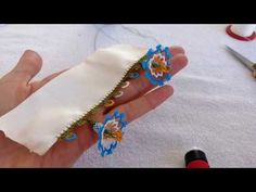 Decorative Knots, Hand Embroidery Videos, Needlework, Homemade, Make It Yourself, Blog, Youtube, Knitting Needles, Lace