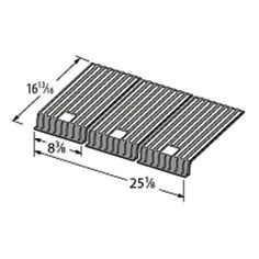 Heavy Duty BBQ Parts 62503 Gloss Cast Iron Cooking Grid for Broilmaster Brand Gas Grills