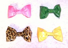 Duct Tape Hairbows EACH SOLD SEPARATELY by FlowerPensAndMore, $3.99