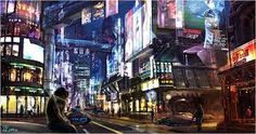 futuristic city - Google Search
