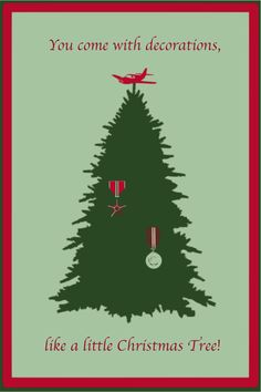 Vaduz Christmas Tree, Cabin Pressure Quote Graphic by ~kerrymcquaid on deviantART
