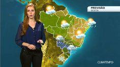 Previsão Brasil - Muita chuva em SP e MS