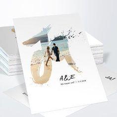Hochzeitseinladungen - online selbst gestalten