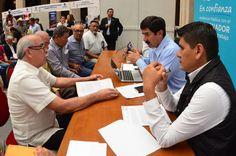 Asiste a la 6ª Audiencia Pública en Chihuahua con el gobernador