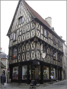 maison à colombages à Bourges (France)