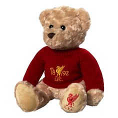 LFC Anfield Luxury Bear | Toys & Games | General | Souvenirs | Liverpool FC Official Store