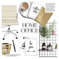 """""""home office"""" by cielshopinteriors ❤ liked on Polyvore featuring interior, interiors, interior design, home, home decor, interior decorating, Ghidini 1961, Cartier and home office"""