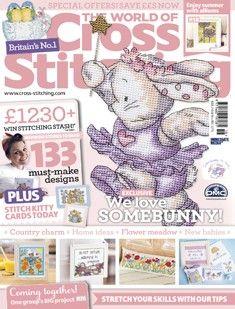 The World Of Cross Stitching Magazine   Cross Stitching
