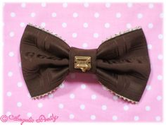 Angelic pretty melty royal chocolate bow
