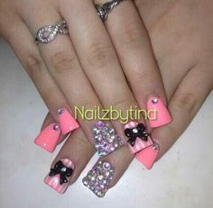 duck nails design  Love the colors and design...not the duck look | Nail Art ...