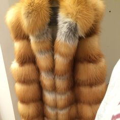 Red fox - the country weekend choice! #fur #fox #luxury SS15