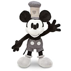Steamboat Willie Mickey Mouse Plush - 17'' - Disneystore.com. I love this so much and it's on sale for $10.