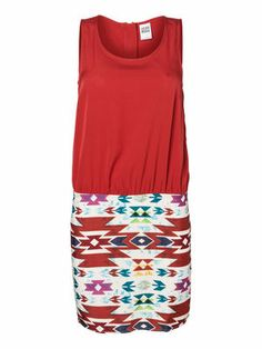 Dress with a cool print  #Dress #Prints @Veronica MODA