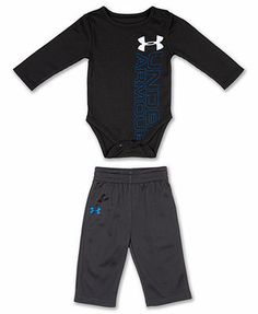 Under Armour Baby Set, Baby Boys Logo Bodysuit & Pants