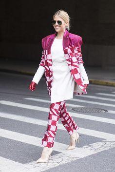 New York Fashion Week Street Style Februar 2016 | POPSUGAR Deutschland Mode