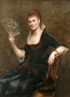 1883, 'Comtesse Duhesme' Jules Louis Machard