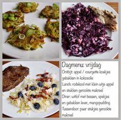 Dagmenu: gezond, puur, bewust en koolhydraatarm. Gezond leven van Jacoline Lchf, A Food, Cabbage, Paleo, Low Carb, Dinner, Vegetables, Detox, Low Carb Recipes