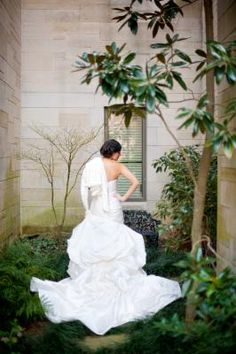Lauren in her Anjolique gown style 2214.  Photo by @Scobey Photography