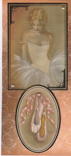 Elegant and cute ballerinas and fairies in handmade cards for occasions such as birthdays and congratulations