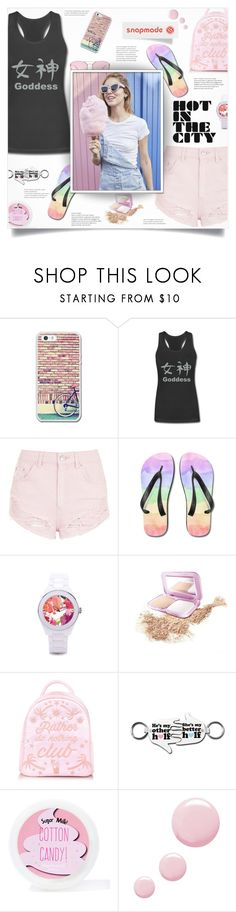 """Snapmade 5"" by smajlovicelvira ❤ liked on Polyvore featuring Topshop, Maybelline and Sugar Milk Co"
