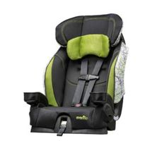 If you're in the market for a new car seat, look for one that's light and compact, like the Evenflo Chase (10 lbs., 20 inches wide). If you'll be flying, be sure that your car seat is FAA-approved and narrow enough to fit on an airline seat. Also, make sure you know how to install a car seat on a plane.