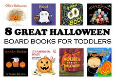 Your toddler will love these 8 Halloween board books!